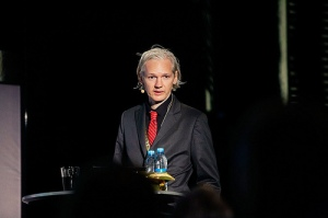 Julian Assange revealed classified information through his media organisation, Wikileaks. Source: New Media Days / Peter Erichsen. http://www.flickr.com/photos/newmediadaysdk/4130304983/